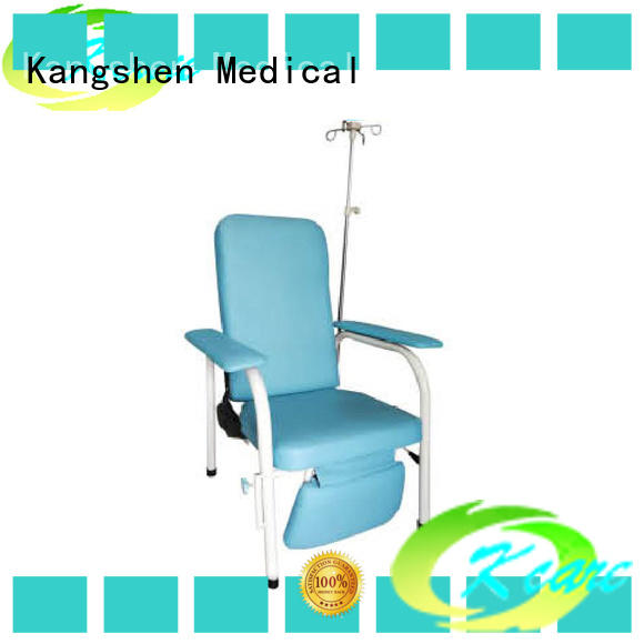 Kangshen Medical steel stainless chairs that make into beds low-cost for laboratory