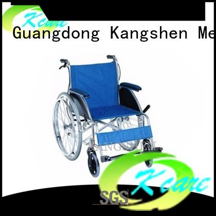 Kangshen Medical alternating pressure foldable wheelchair for customization