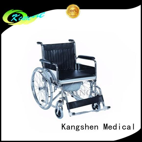 Kangshen Medical wheelchair shower chair with back high-quality for customization