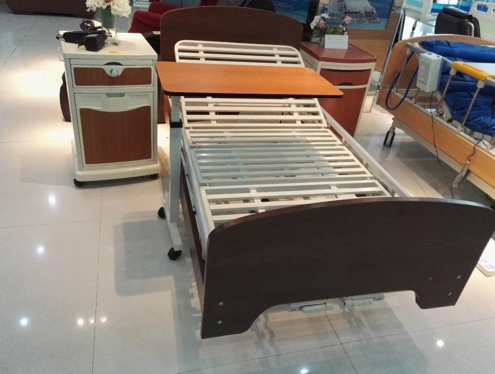 Kangshen Medical adjustable over bed tray table top quality hospital-1