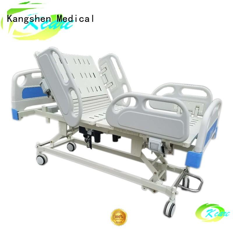 medical industry adjustable electric beds for sale guardrail free delivery Kangshen Medical