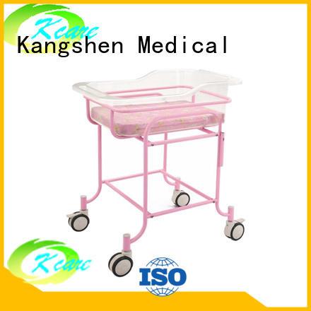 popular hospital baby cribs for sale folded steel dining table Kangshen Medical