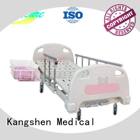Kangshen Medical popular hospital baby bed folded steel for patient