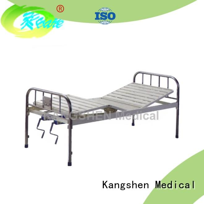 Kangshen Medical manual hospital beds for sale new arrival factory price