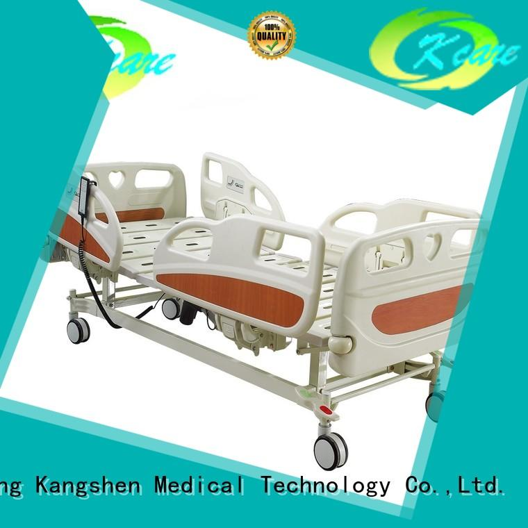 Kangshen Medical clinic electric hospital bed alloy brake for wholesale