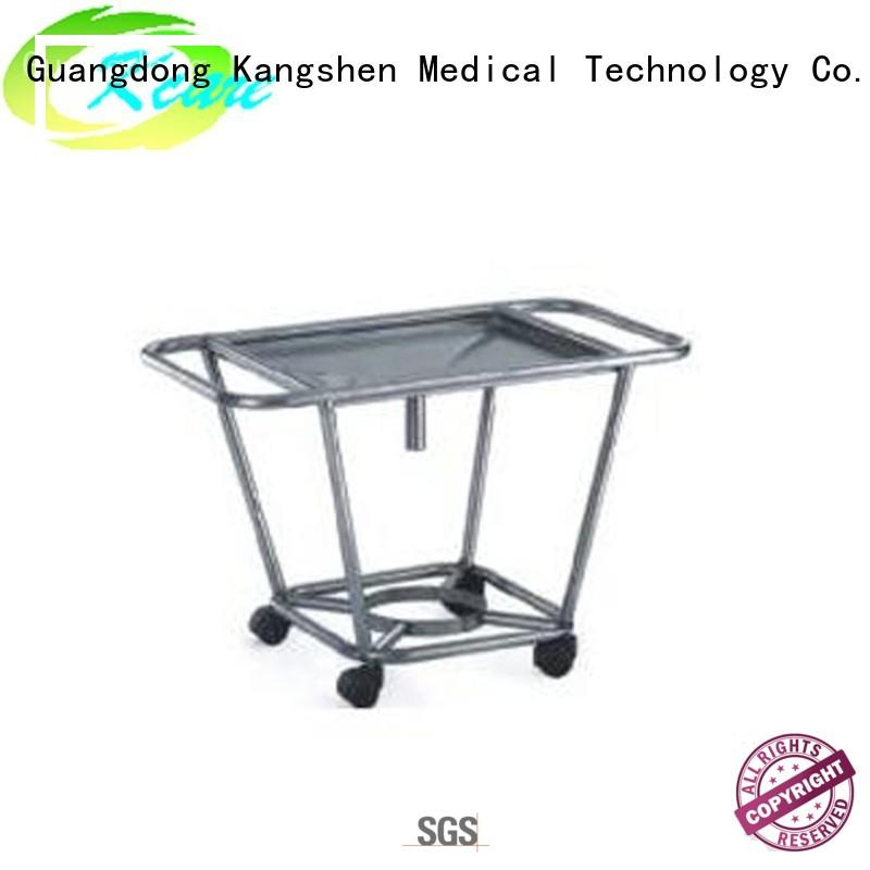 Kangshen Medical hospital emergency stainless steel medical trolley multi-functional at discount