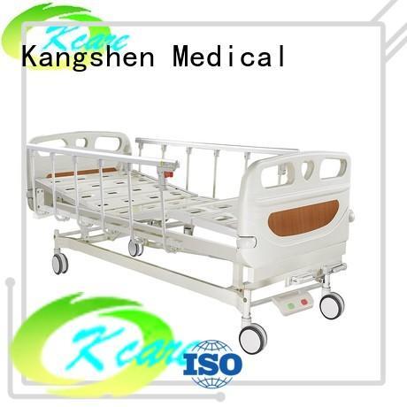 paramount manual hospital bed guardrail free delivery Kangshen Medical