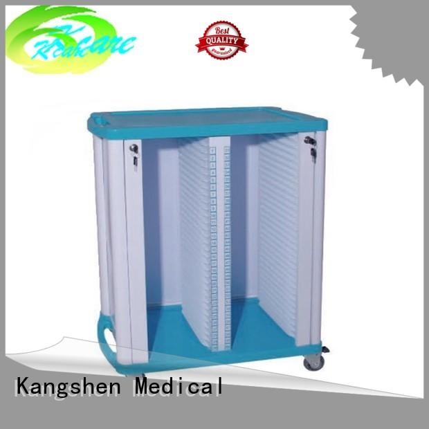 emergency trolley Kangshen Medical Brand medical cart manufacturers factory