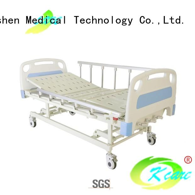 hand-operated manual hospital beds for sale vertical free delivery Kangshen Medical