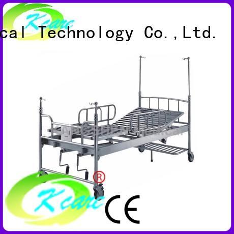 Kangshen Medical pvc manual adjustable bed new arrival for patient