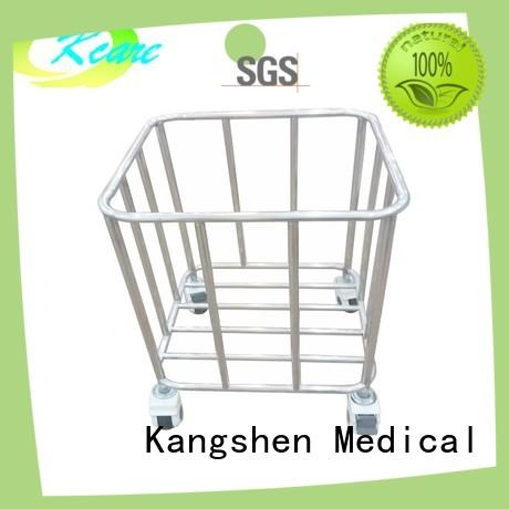 stainless steel metal trolley clothes multi-functional for infirmary