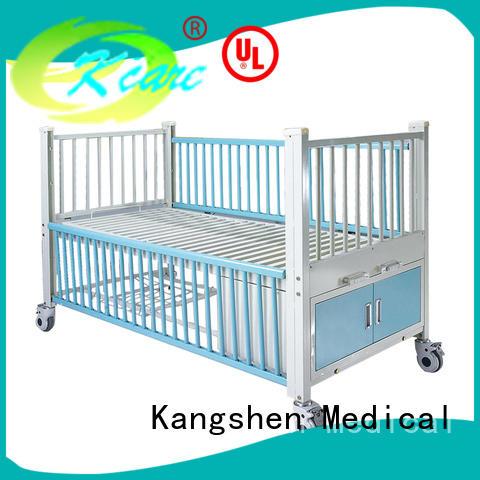 Kangshen Medical one crank hospital baby crib medical equipment for patient