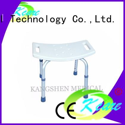 Kangshen Medical anti bedsore shower chair with back manual for customization
