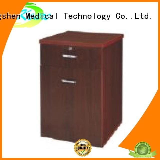 Kangshen Medical professional 4 drawer bedside table for wholesale