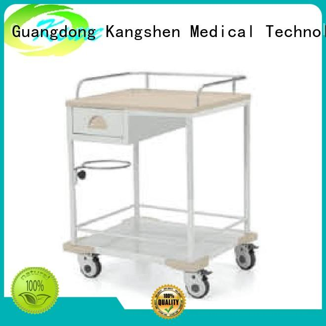 Kangshen Medical recycling hospital linen cart factory price at discount