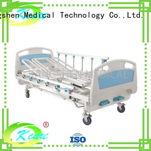 luxury hospital manual bed motor rotating for wholesale Kangshen Medical