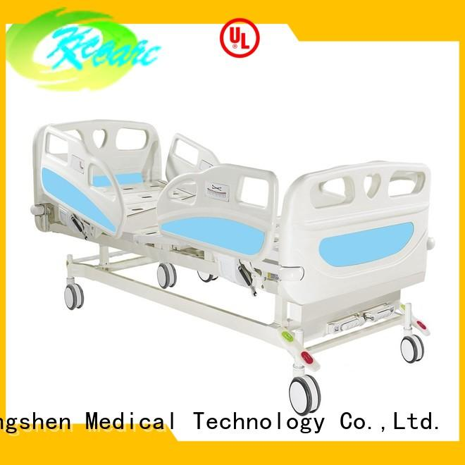 manual hospital bed price crank side manual hospital bed Kangshen Medical Brand