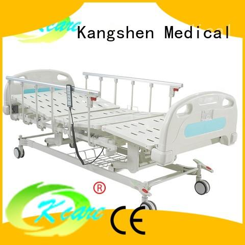 Kangshen Medical central lock electric hospital bed stainless aluminum at discount
