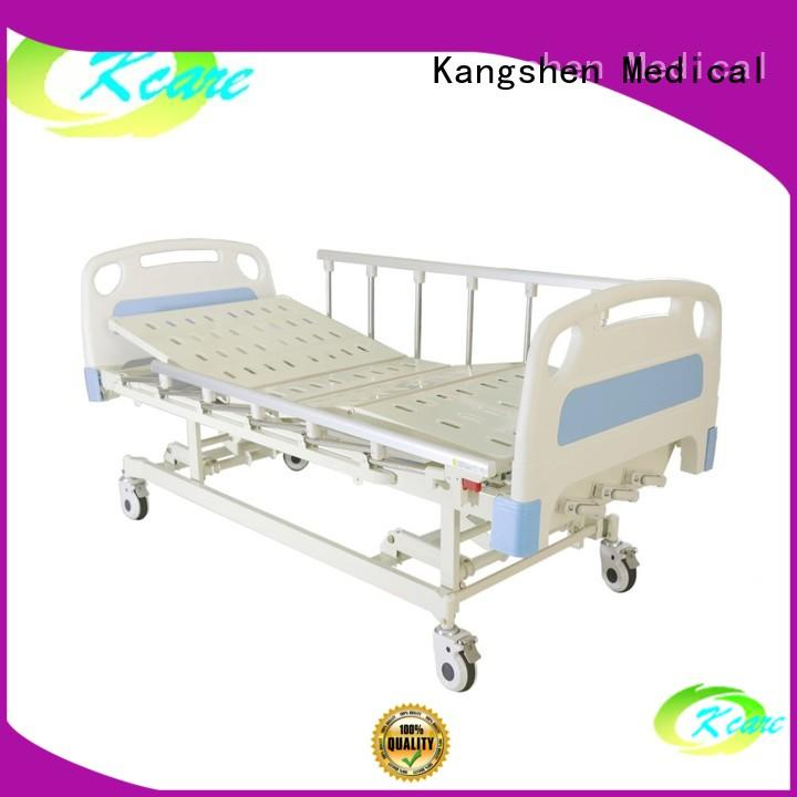 hand-operated manual bed stainless aluminum at discount Kangshen Medical