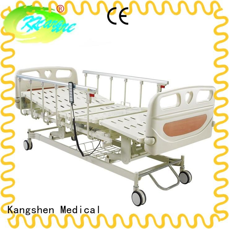 Kangshen Medical nursing home electric hospital bed with rails