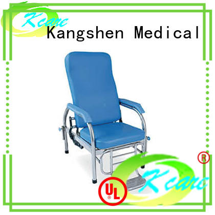 Kangshen Medical wholesale hospital chair bed top selling for medical industry