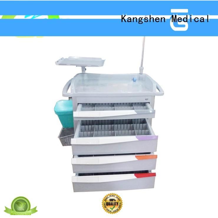 Kangshen Medical anesthesia medical computer cart deluxe clinic equipment