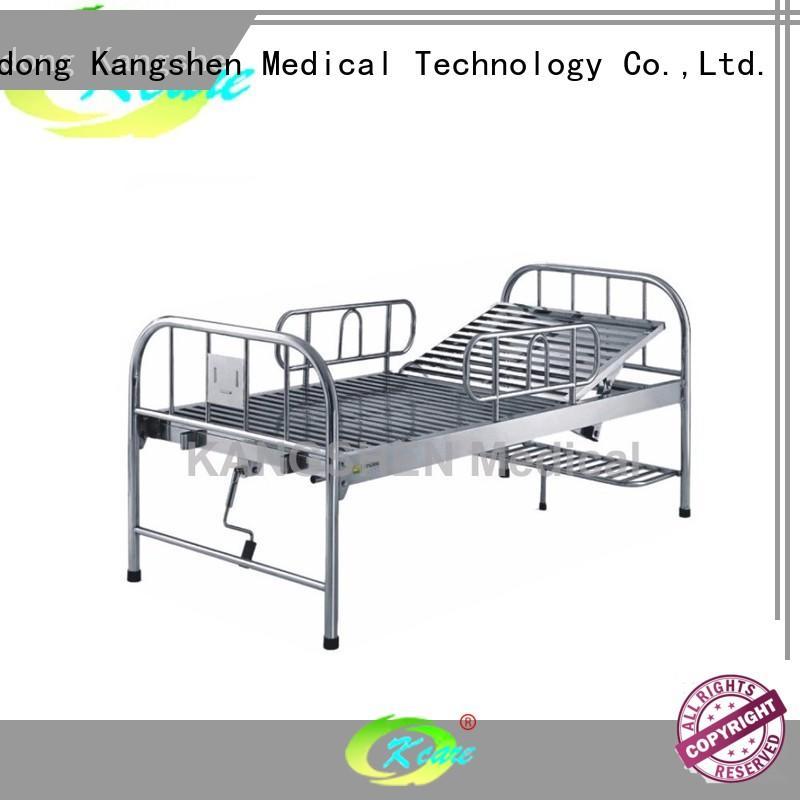 Kangshen Medical multi-functional metal hospital bed custom wholesale