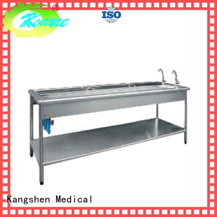 Kangshen Medical luxurious steel medical cabinet transportation
