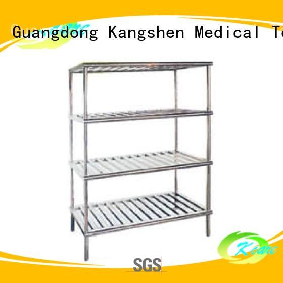 Hospital steel shelf for goods KS-C23e