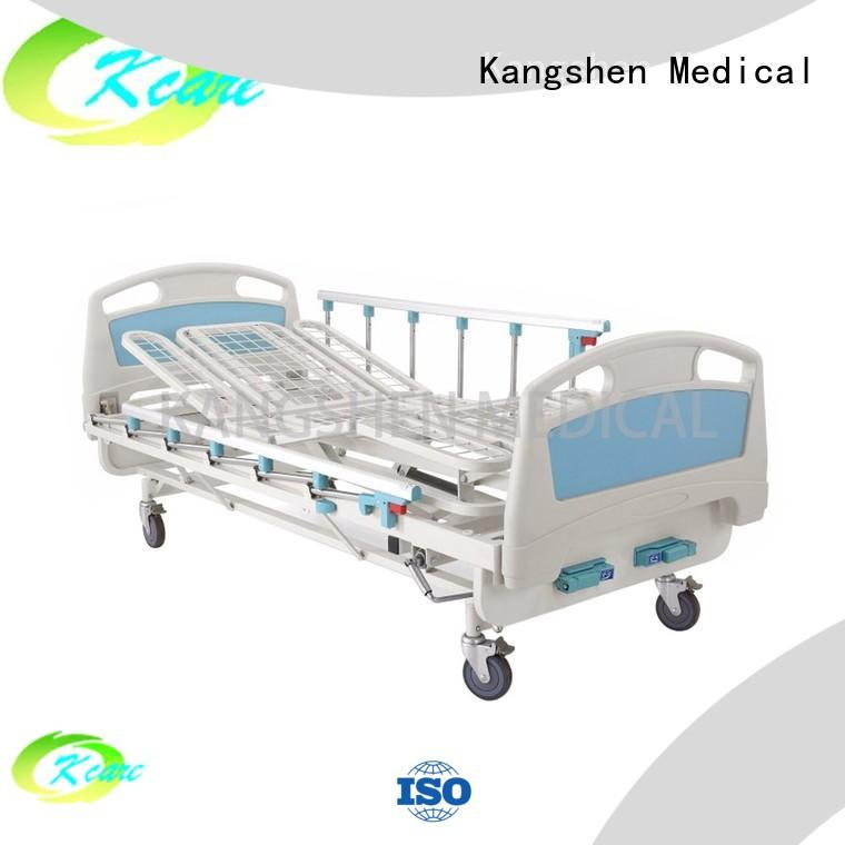clinic manual adjustable bed paramount guardrailat discount