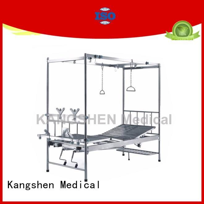 Kangshen Medical best price manual adjustable bed new arrival