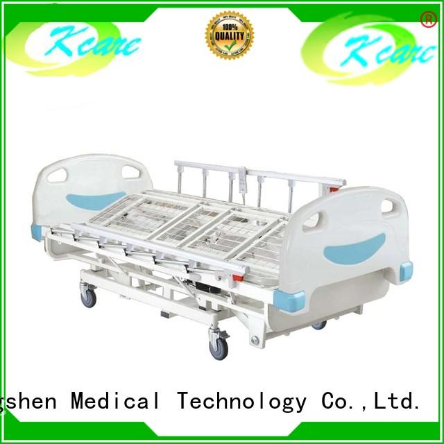 economical electric hospital bed for sale stainless aluminum Kangshen Medical
