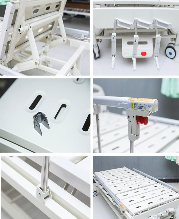 paramount manual hospital bed guardrail free delivery Kangshen Medical-1