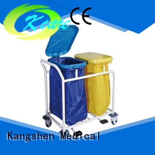 Kangshen Medical recycling stainless steel medical trolley factory price for infirmary