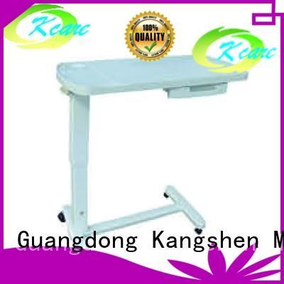 desktop hospital overbed table abs medical equipment hospital