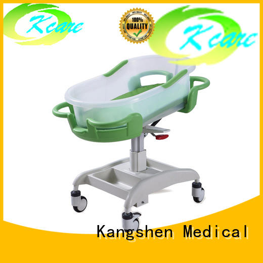 three-functions hospital baby crib plywood dining table