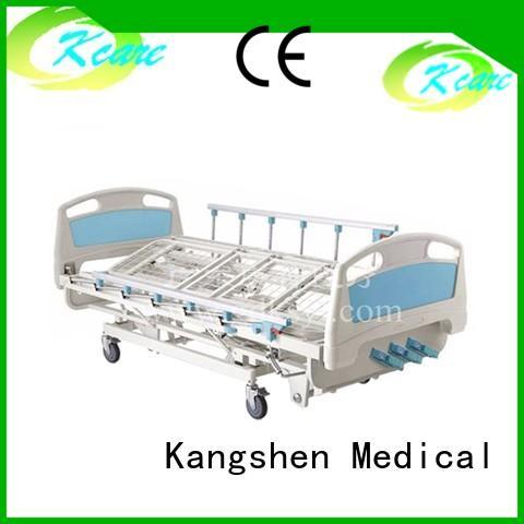 hand-operated manual hospital bed motor rotating for wholesale Kangshen Medical