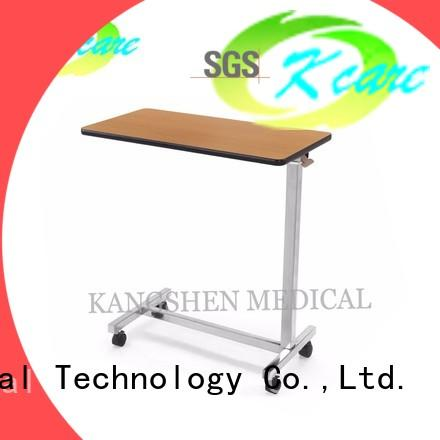 abs medical overbed table medical equipment for patient