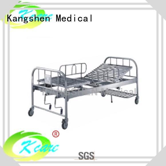 Kangshen Medical best price manual adjustable bed latest for patient
