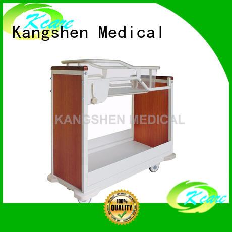deluxe care pediatric hospital bed folded steel hospital Kangshen Medical